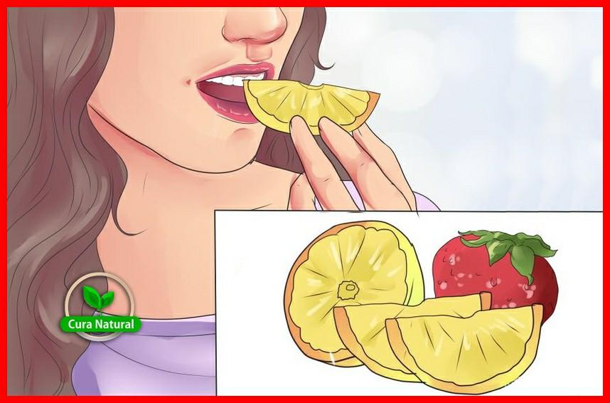 alimentos que ajudam a clarear os dentes