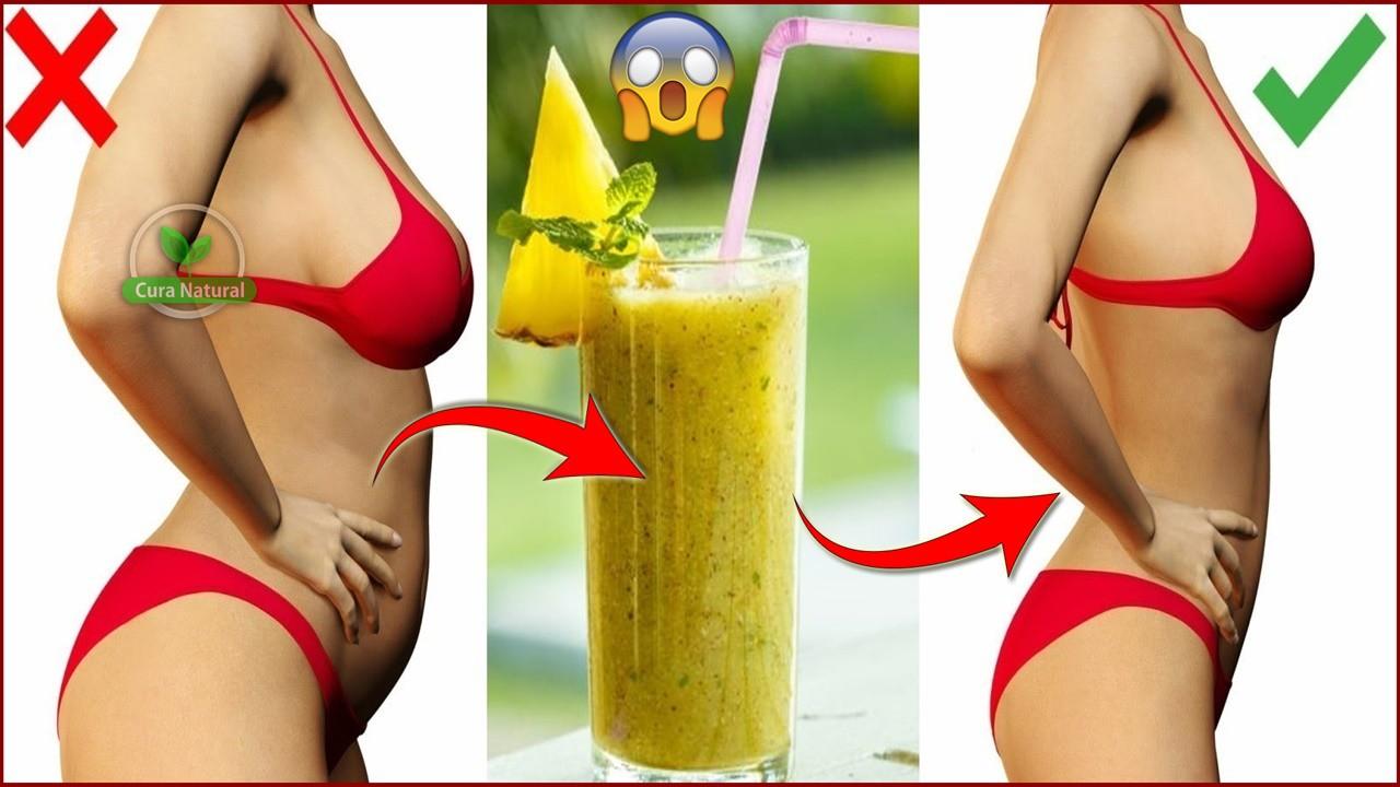 Como Queimar Gordura da Barriga à Noite com Ajuda Desta Bebida!
