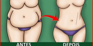 chá para derreter gordura da barriga