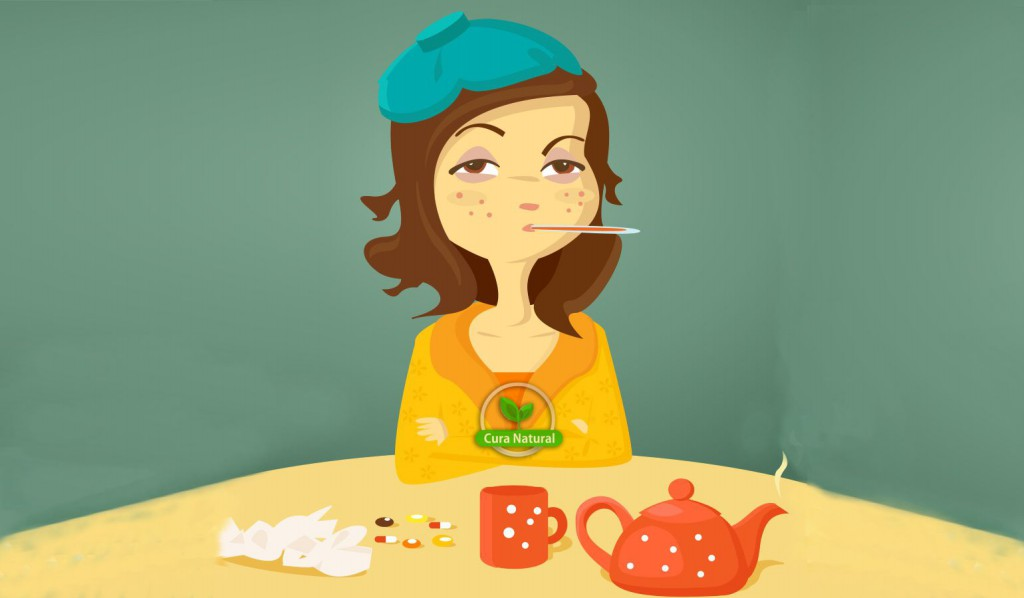 tratar gripe e resfriado naturalmente