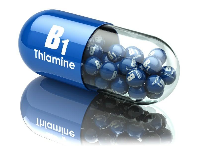 tiamina gera a energia necessária para aumentar a concentração
