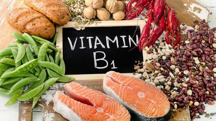 quais os alimentos ricos em vitamina B1?