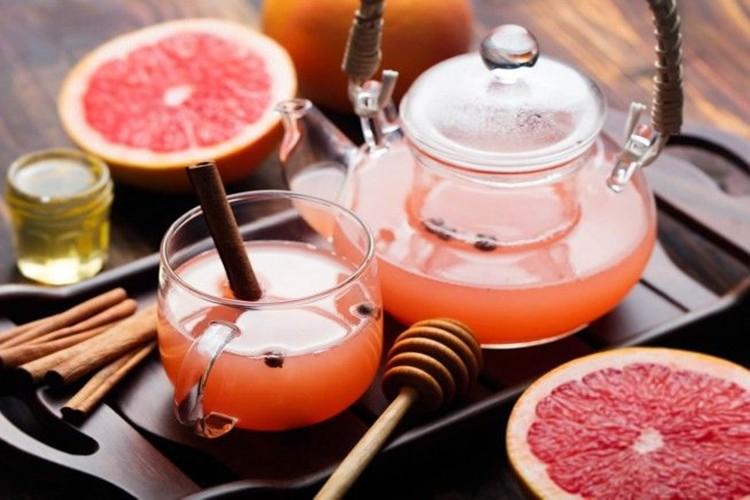 benefícios do chá de toranja