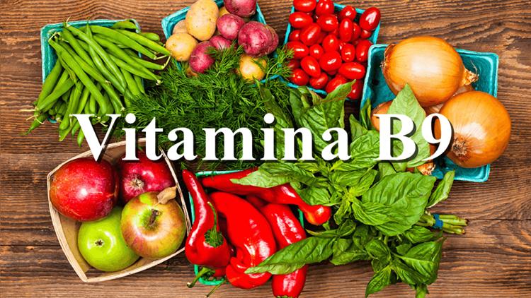 beneficio vitamina b9