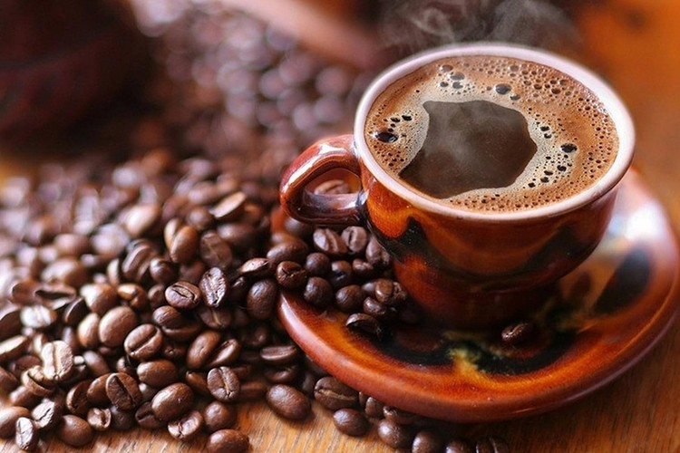 café y granos de café