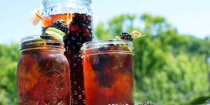 quais os benefícios do chá de amora?