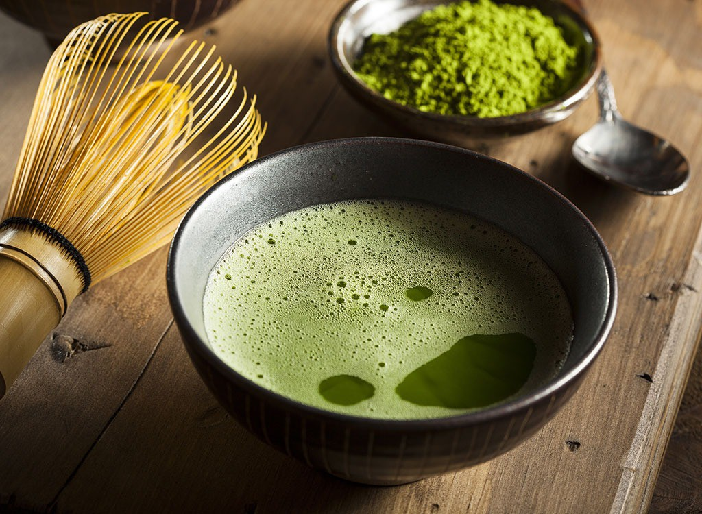 Benefício do chá verde para pele