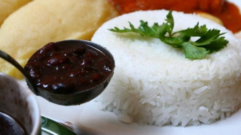 arroz e feijao