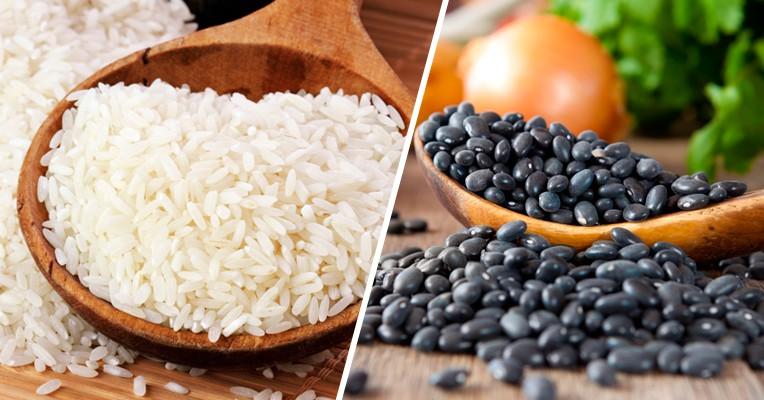 beneficios de arroz com feijao
