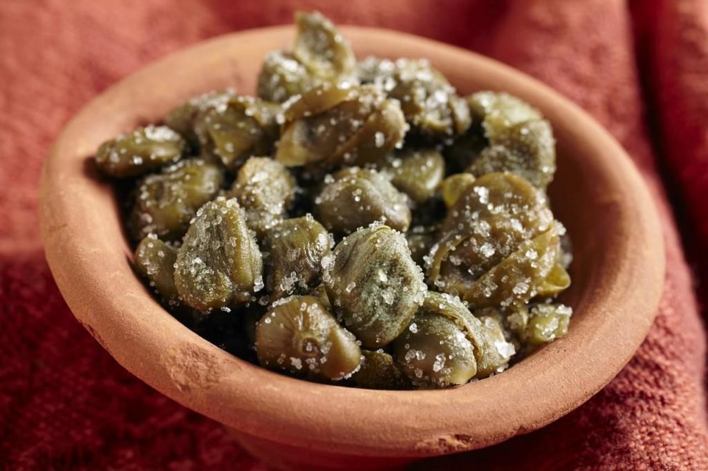 alcaparra tem várias vitaminas benéficas