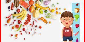 alimentos para criancas