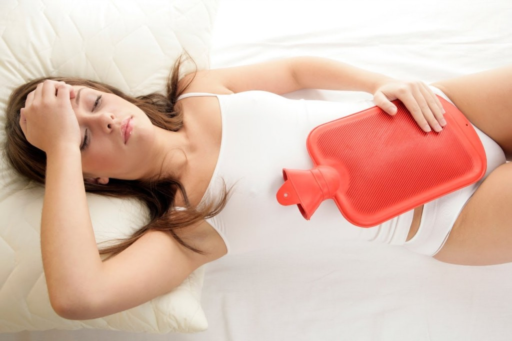 o suco de aloe vera proporciona alívio das cólicas menstruais