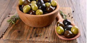 benefícios do caroço da azeitona