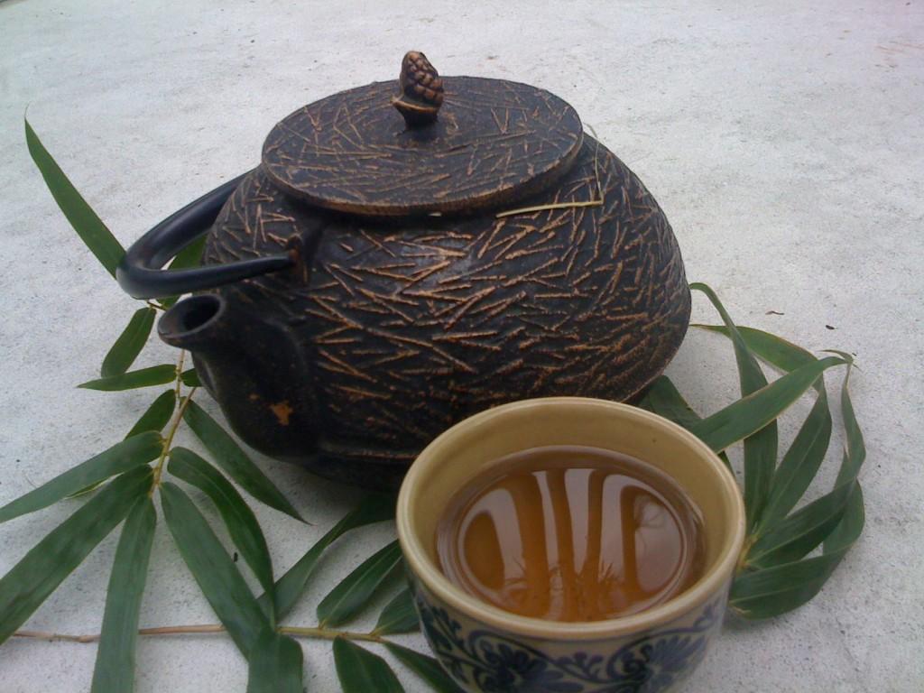beneficios do cha de bambu