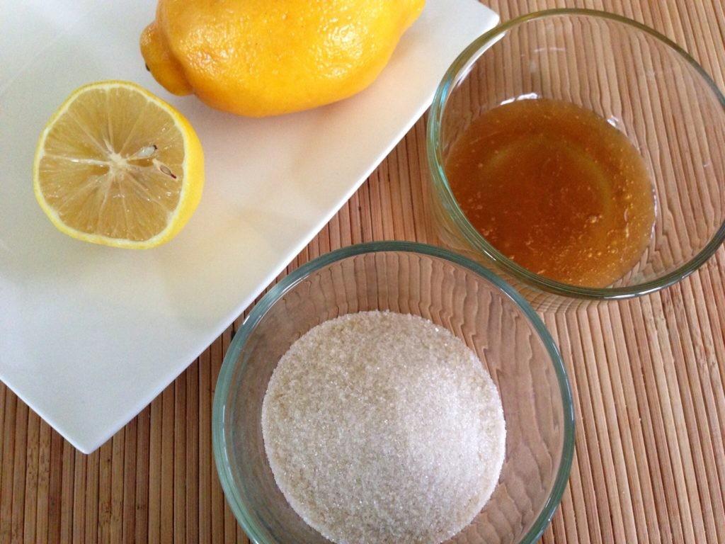 como usar mel e limão para remover os pelos faciais