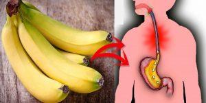 benefícios da banana para refluxo ácido