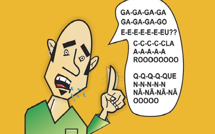 causas da gagueira