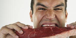 sinais do consumo excessivo de carne