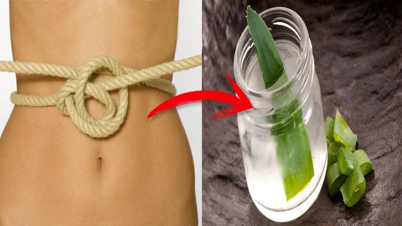 suco de aloe vera para combater a constipação