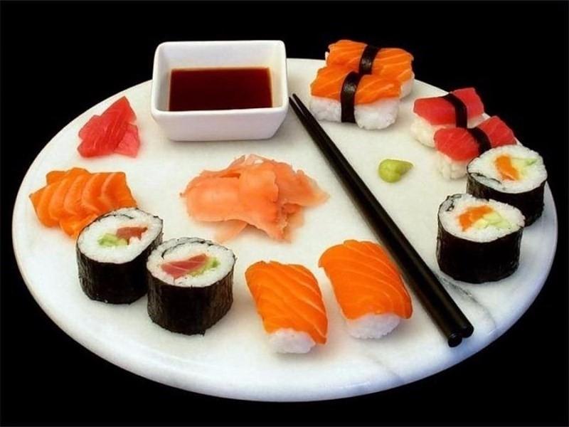 beneficios do sushi e gengibre