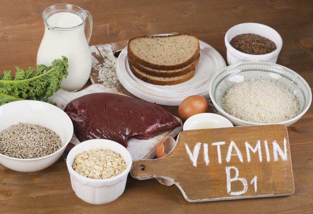principais alimentos ricos em vitamina B1
