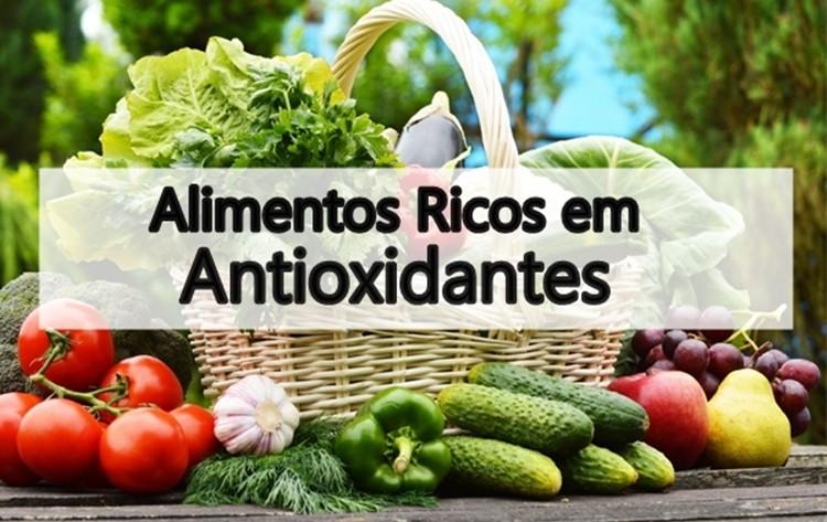 principais alimentos ricos em antioxidantes