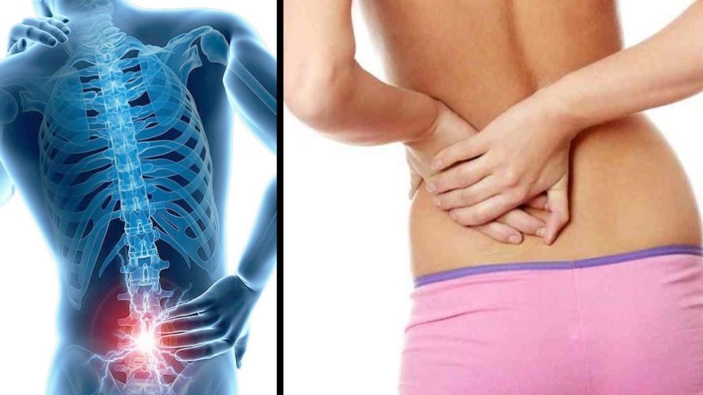 como aliviar dor nas costas
