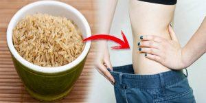 benefícios do arroz integral para perder peso