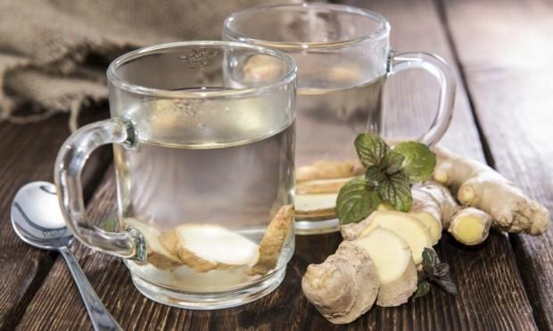 o chá de gengibre alivia dores musculares