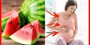 benefícios de comer melancia durante a gravidez