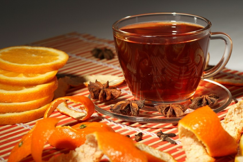 beneficios do cha de casca de laranja