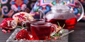 quais os benefícios do chá de romã?