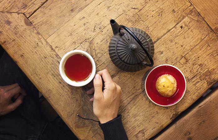 o chá de rooibos é naturalmente doce
