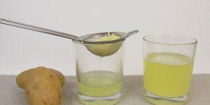 benefícios do suco de batata para a saúde geral