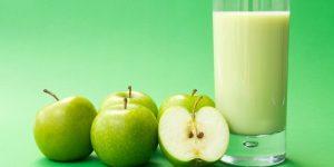 quais os benefícios do suco de maçã verde?