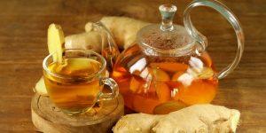 o chá de gengibre ajuda no tratamento de gripes e resfriados