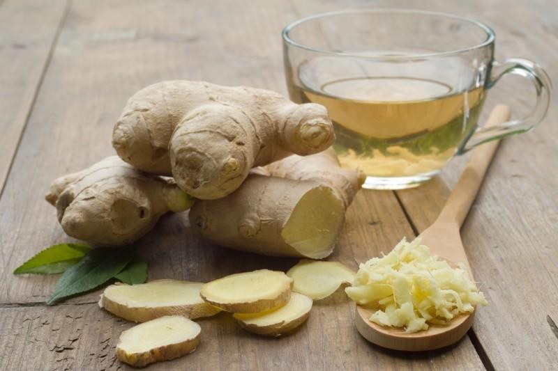 quais os benefícios do chá de gengibre?