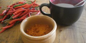 quais os benefícios do chá da pimenta?