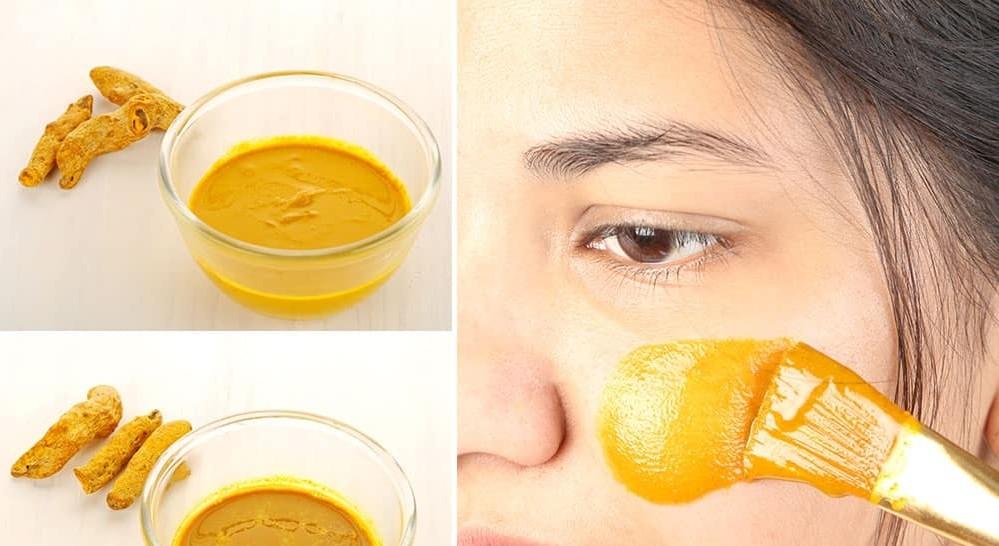 formas de usar a cúrcuma para depilação facial