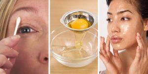 máscaras caseiras para eliminar a acne usando ovo
