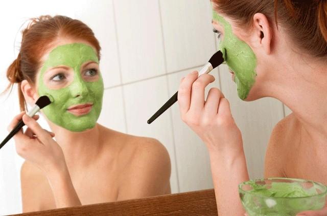 abacate para eliminar a acne