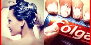 formas surpreendentes de usar pasta de dente