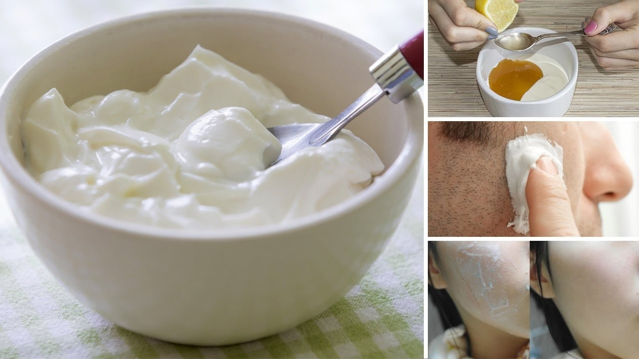usar iogurte para pele seca