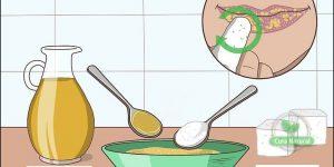 mel e açúcar para acabar com os lábios rachados