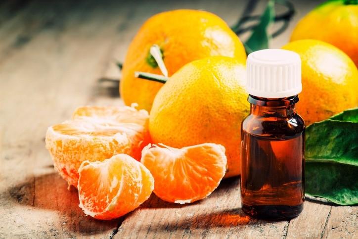 o óleo de laranja contribui para saúde da pele