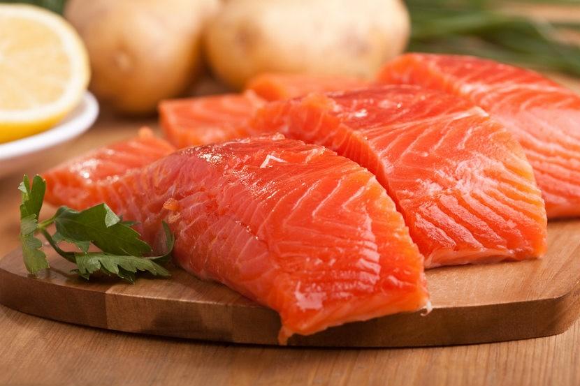 salmão selvagem para perda de peso