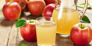 benefícios do suco de maçã