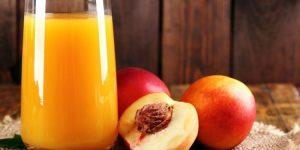 beneficios do suco de pessego