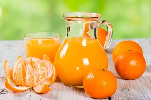 suco de tangerina