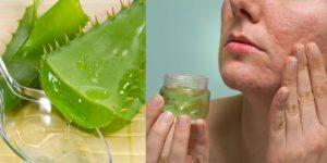babosa para tratar pele seca